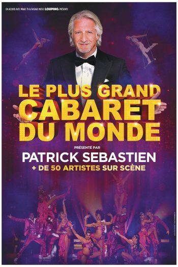 Affiche Le Plus Grand Cabaret du Monde spectacle zénith de limoges