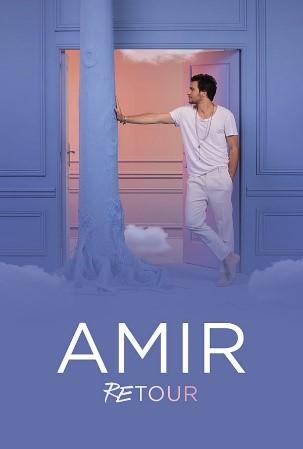 Affiche Amir Retour tournée concert Zénith de Limoges métropole
