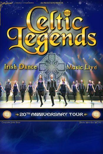 Affiche Celtic Legends spectacle irish celtic dance music live zénith de limoges métropole