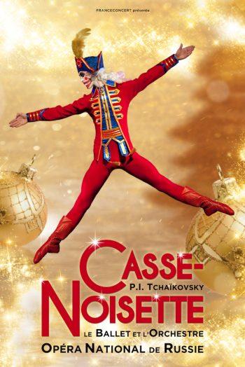 Affiche Casse Noisette ballet danse zénith de limoges
