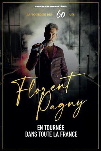 Affiche Florent Pagny concert la tournée de 60 ans Zénith de Limoges