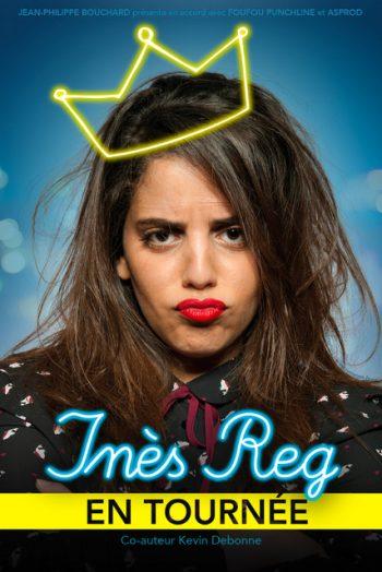 Inès Reg spectacle
