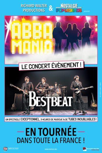 Pop legends Abba & The Beatles concert