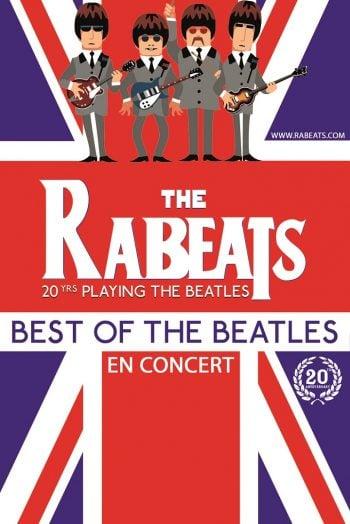 Affiche The Rabeats Best of the Beatles concert Zénith de Limoges métropole