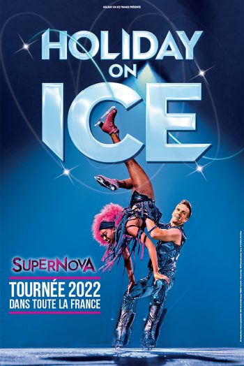 Affiche Holiday on ice supernova zénith de limoges spectacle patinage