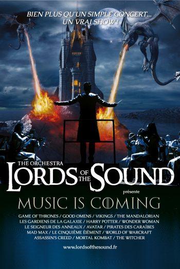Affiche Lords Of The Sounds spectacle concert zénith de limoges métropole