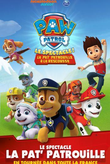 Affiche Pat Patrouille Zénith de Limoges métropole spectacle enfants famille